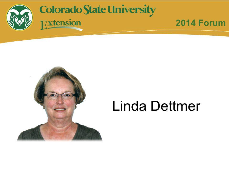 2014 Forum Linda Dettmer
