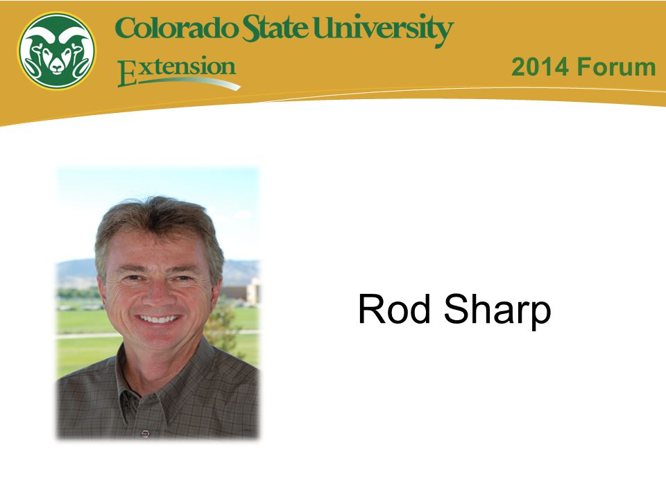 2014 Forum Rod Sharp