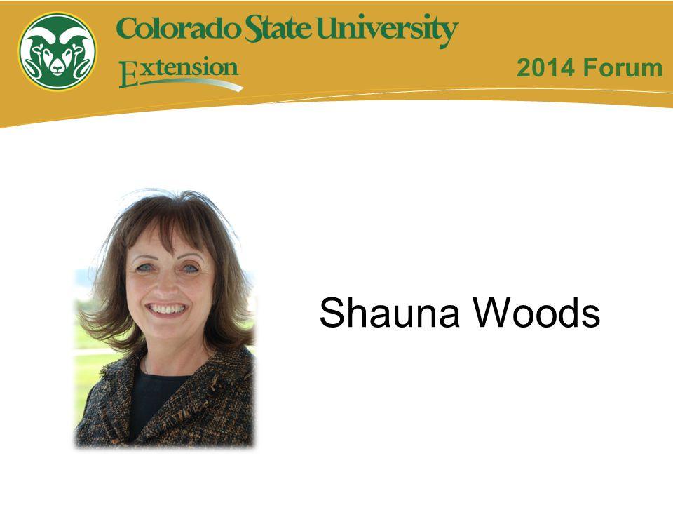 2014 Forum Shauna Woods