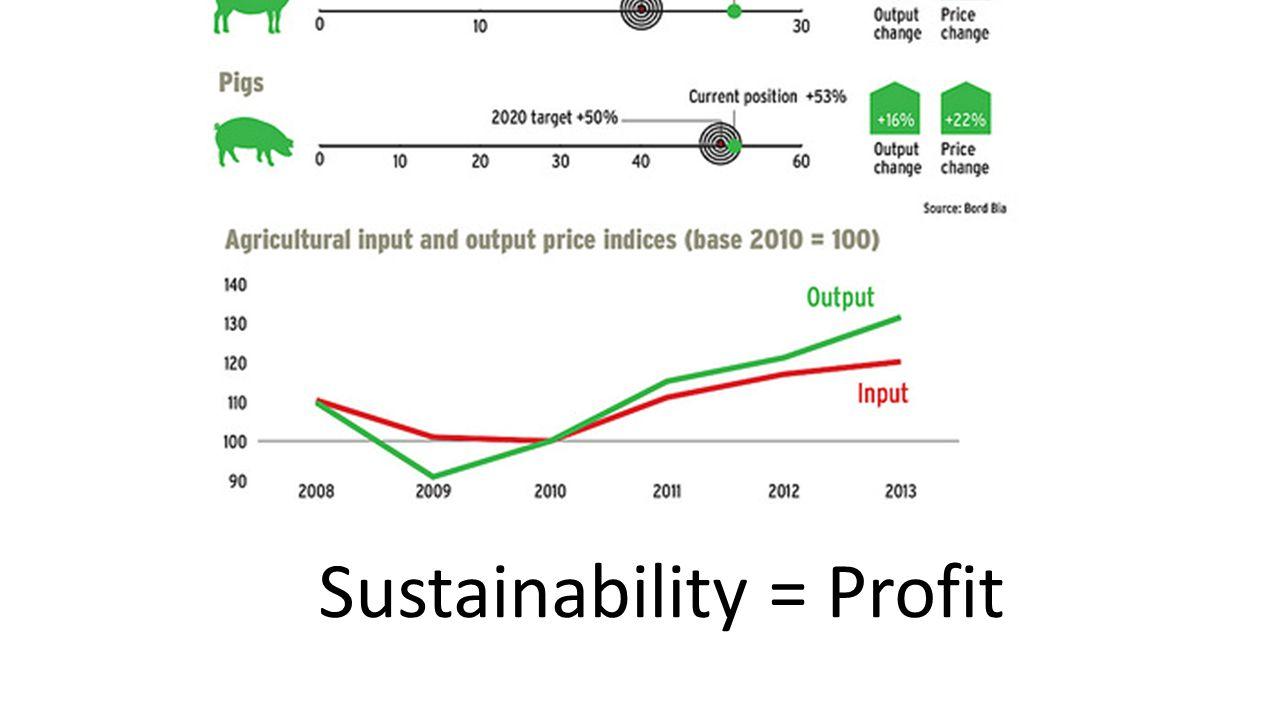 Sustainability = Profit