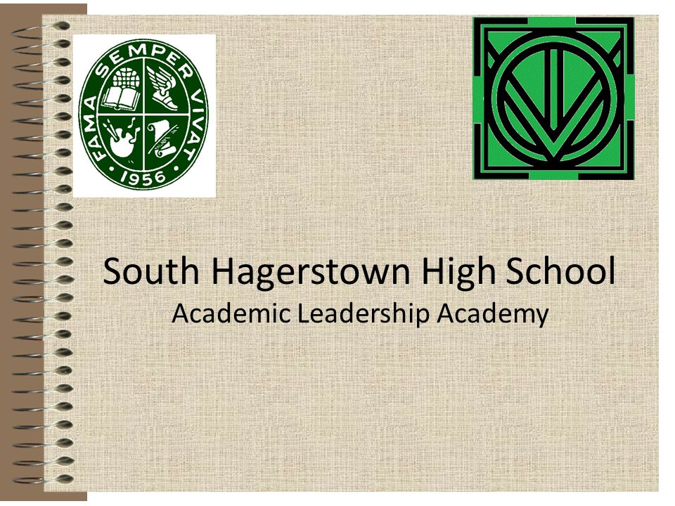 South Hagerstown High School Academic Leadership Academy