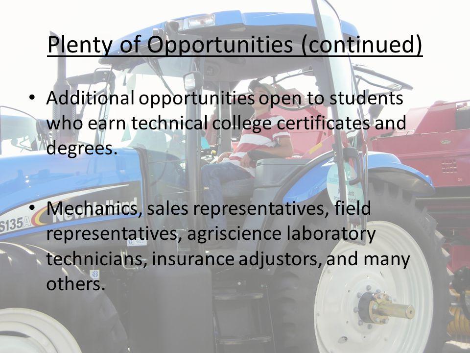 Agriscience Professions (continued) Ag Accountant, Ag Advertising Executive, Ag Consultant, Ag Corporation Executive, Ag Economist, Ag Educator (like Mr.