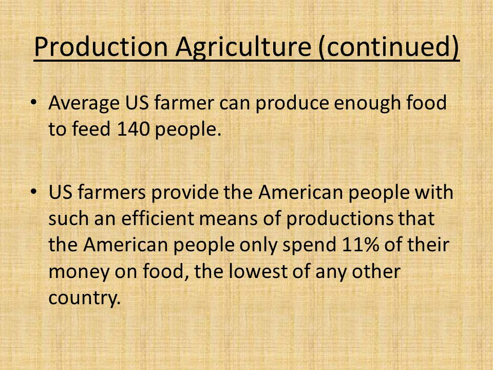 Ag Processing, Products, and Distribution Haul, Grade, Process, package and market commodities from production sources.
