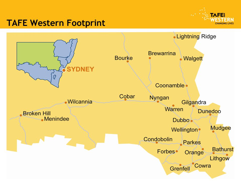 TAFE Western Footprint