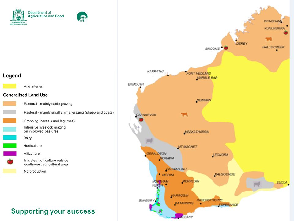 Supporting your success DAFWA Office Katanning Farming businesses in the Katanning district Broader industry in the Katanning district What do we do.