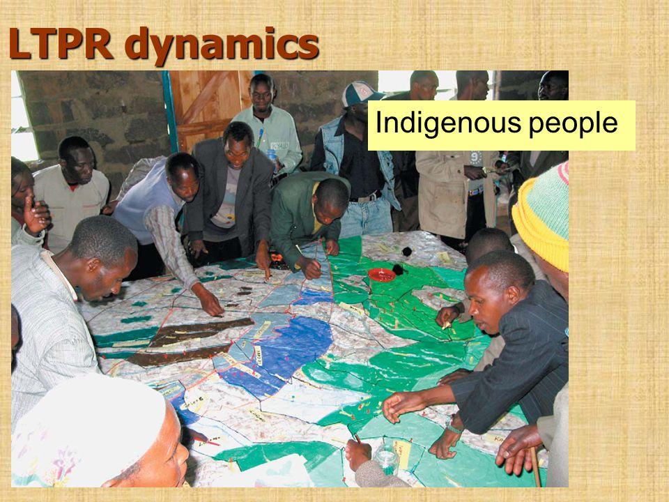 LTPR dynamics Indigenous people