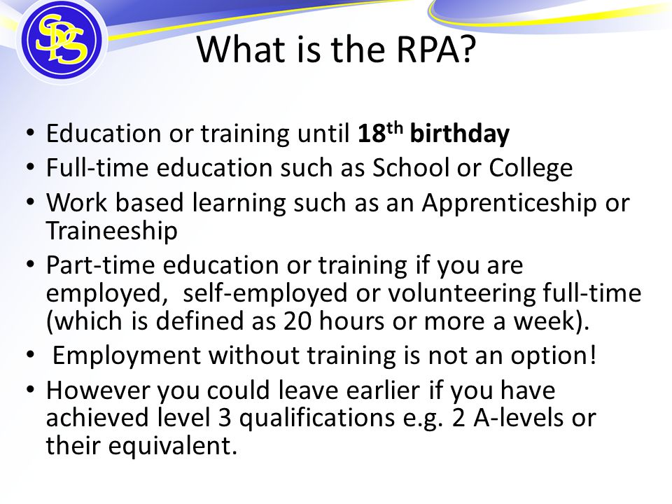 What is the RPA.