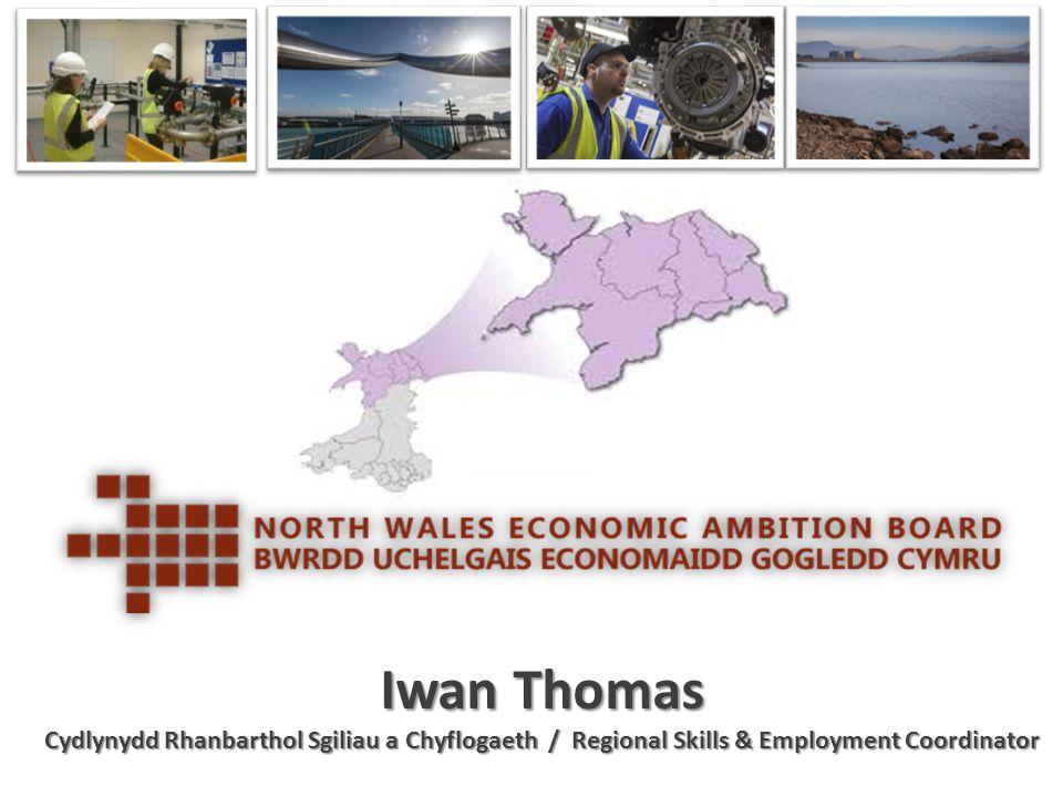 Iwan Thomas Cydlynydd Rhanbarthol Sgiliau a Chyflogaeth / Regional Skills & Employment Coordinator