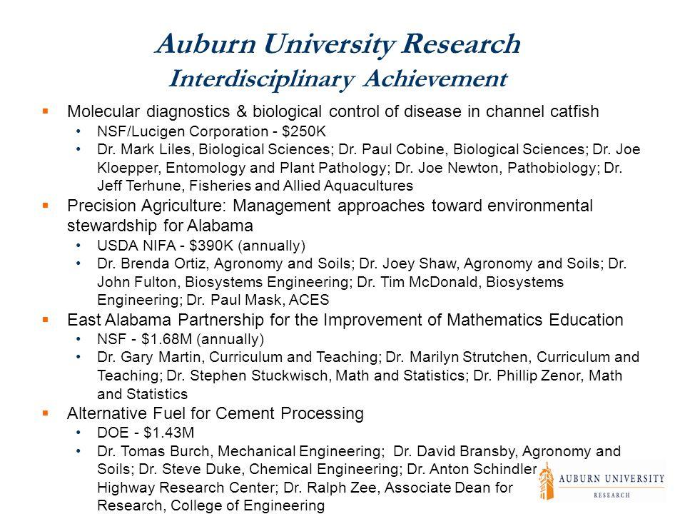  Molecular diagnostics & biological control of disease in channel catfish NSF/Lucigen Corporation - $250K Dr.