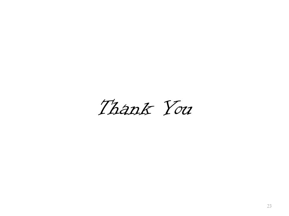 Thank You 23