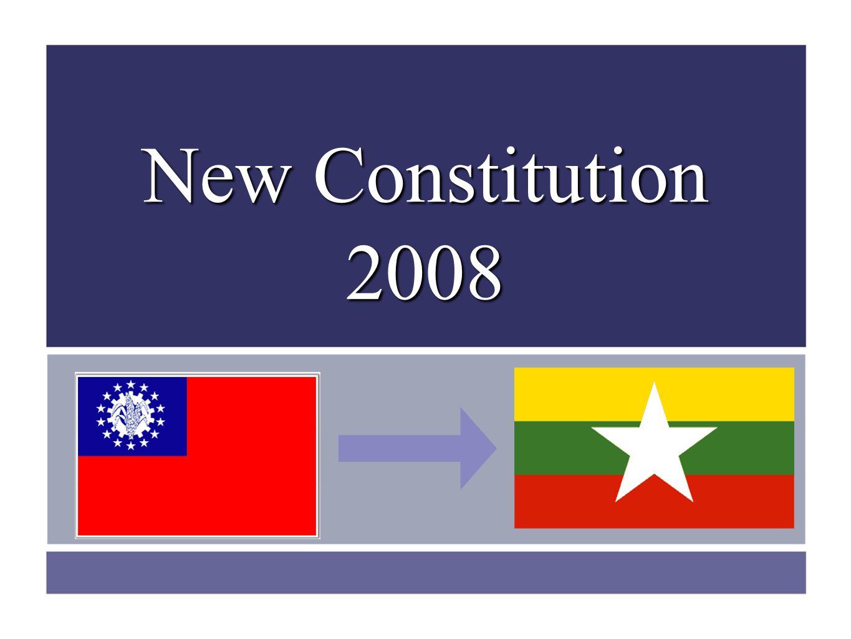 New Constitution 2008