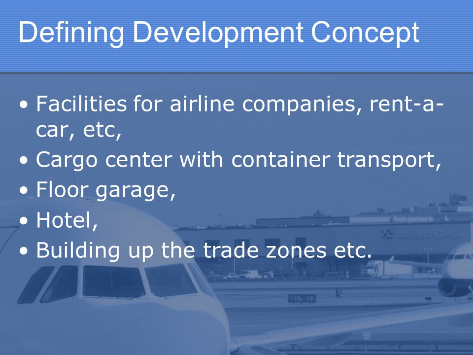 Reconstruction and modernization of Cargo center facilities: Providing separate warehouse for handling and processing of special cargo (provide handling and processing conditions for special cargo and storage in appropriate facilities.