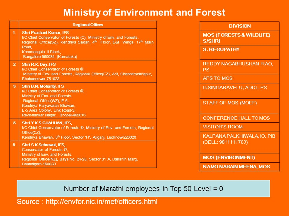 Ministry of Environment and Forest MOEF - NIC COMPUTER CELL SANJAY GEHLOT, SR.TECH.