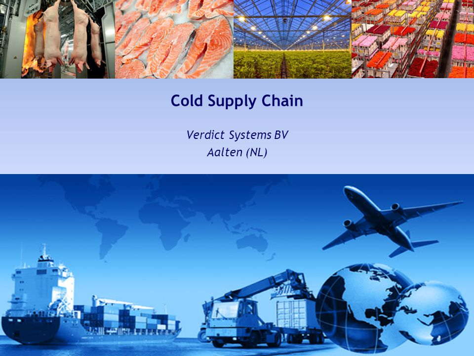 Verdict | Systems Cold Chain, Wireless & Environmental monitoring Cold Supply Chain Verdict Systems BV Aalten (NL)