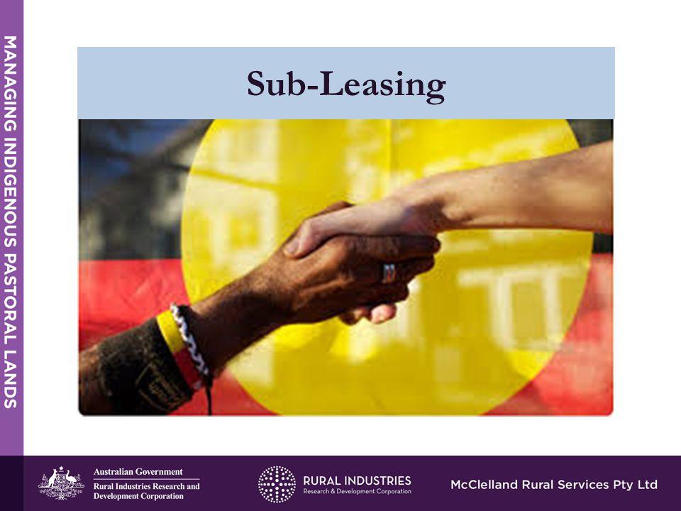 Sub-Leasing