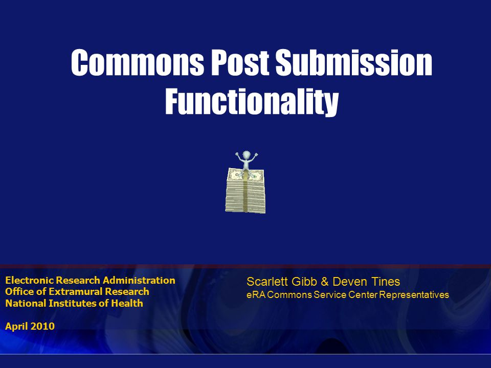Status – After Submission