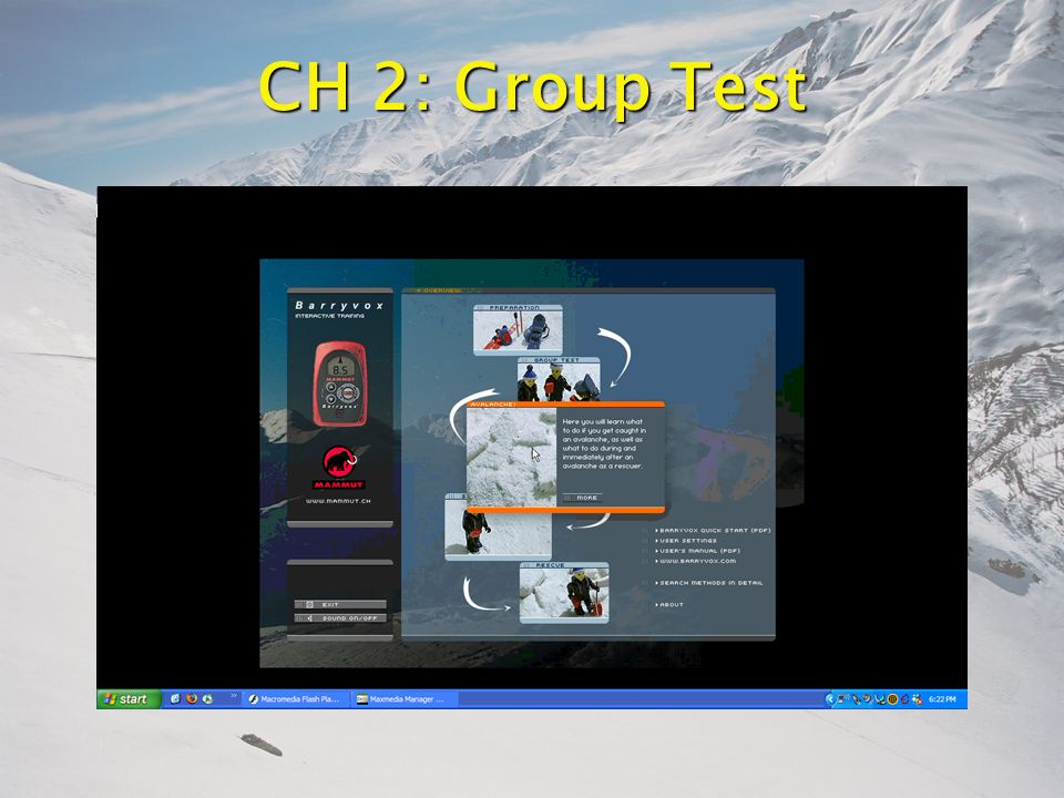 CH 2: Group Test