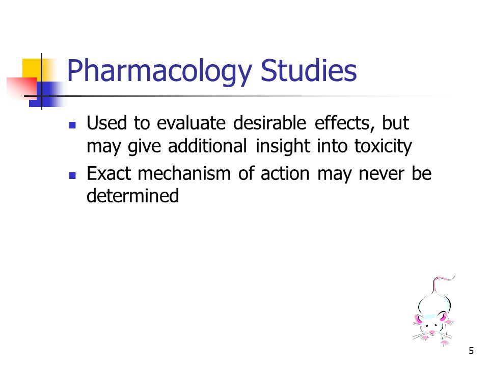 6 Toxicology: The search for the unexpected