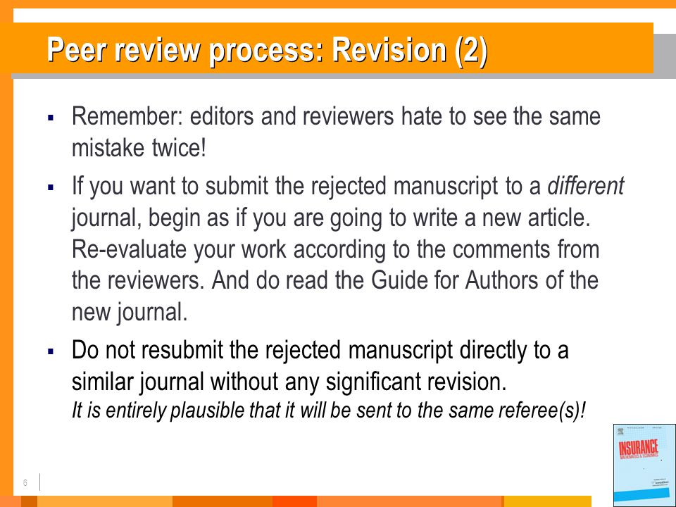 17 What is a good paper.(7)  Keep consistent throughout the manuscript.