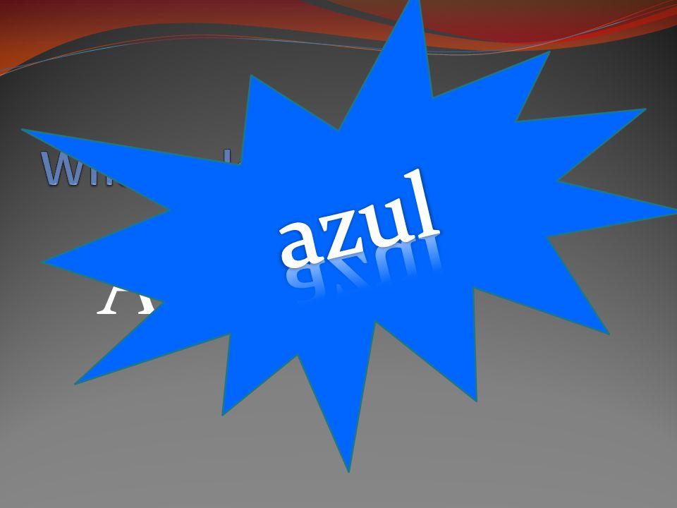 AZUL [ah-sool]