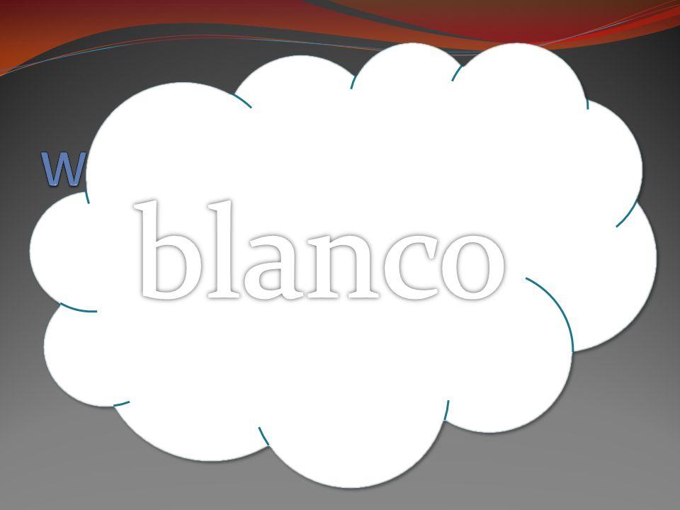 BLANCO [BLAHN-KO]