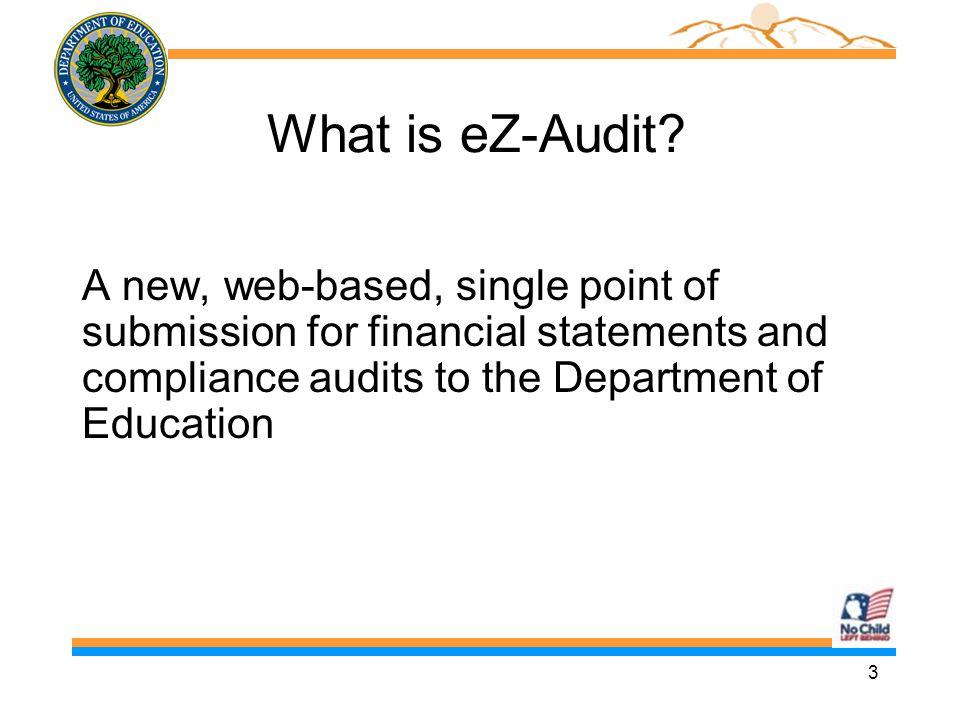 4 EZ Audit is easy.