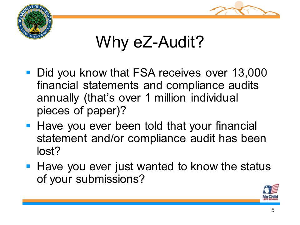 16 School User Roles n 3 School User roles in eZ Audit n Schools determine who will perform each role n Institution/School Administrator n Data Entry User n Submitter