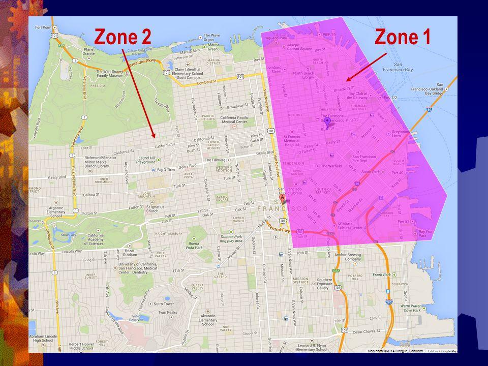 Zone 1Zone 2