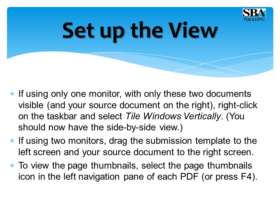  Copy all pages from your source document to the template by selecting the thumbnail images in your source document and dragging them behind the appropriate dividers in the thumbnail section of the submission PDF files as follows:  Select your completed submission checklist page and drag it to the thumbnail section of the submission template immediately behind the yellow Submission Checklist tab.