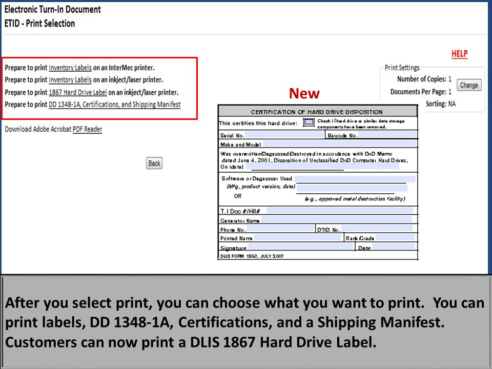 After you select print, you can choose what you want to print.