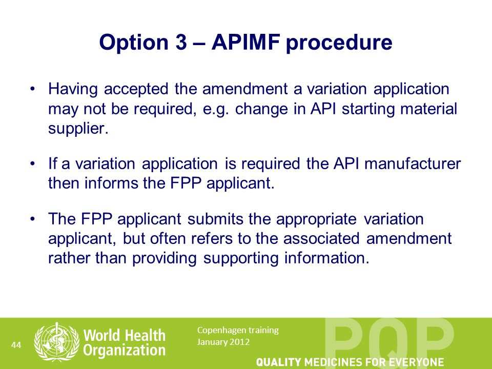 Having accepted the amendment a variation application may not be required, e.g.