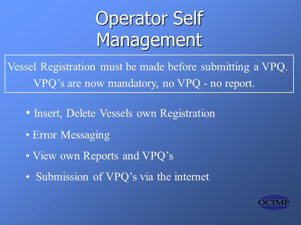 Operators Administration