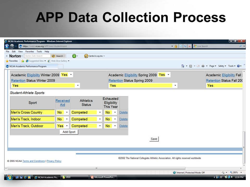 APP Data Collection Process