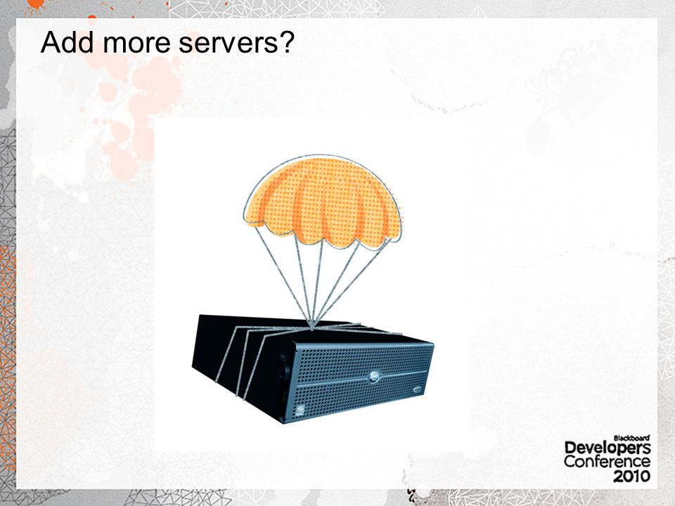 Add more servers