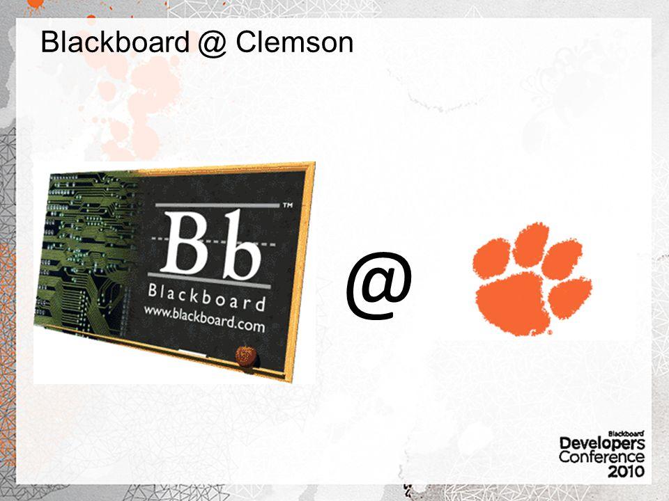 Blackboard @ Clemson @