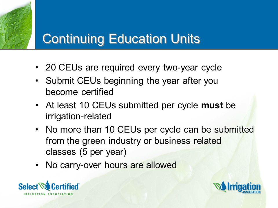 How do I earn CEUs.