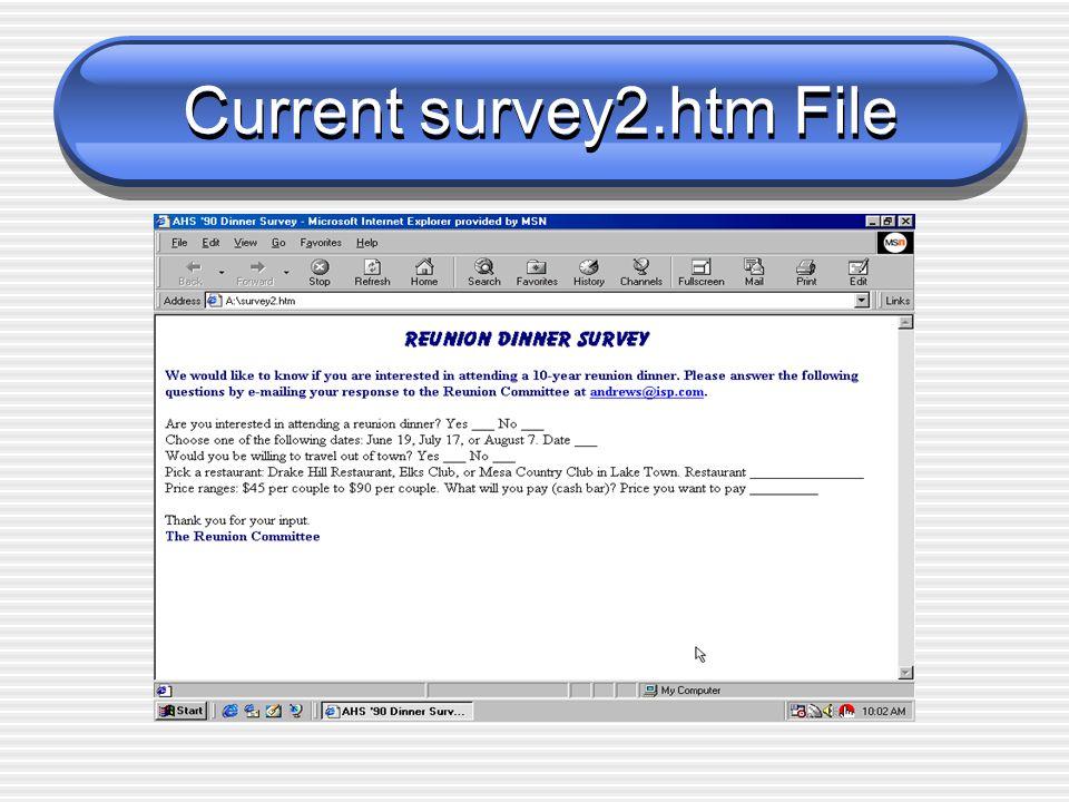 Current survey2.htm File