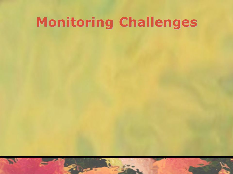 Monitoring Process Six-step Process: 1.Identify contracts to monitor 2.