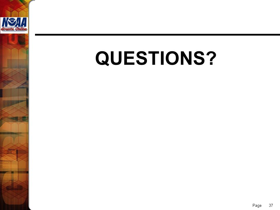 Page 37 QUESTIONS?