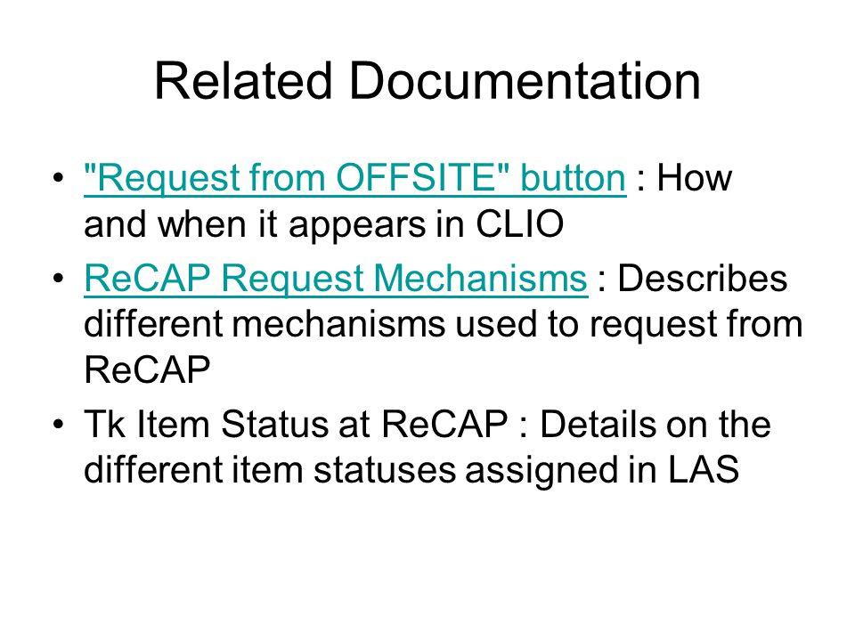 Related Documentation