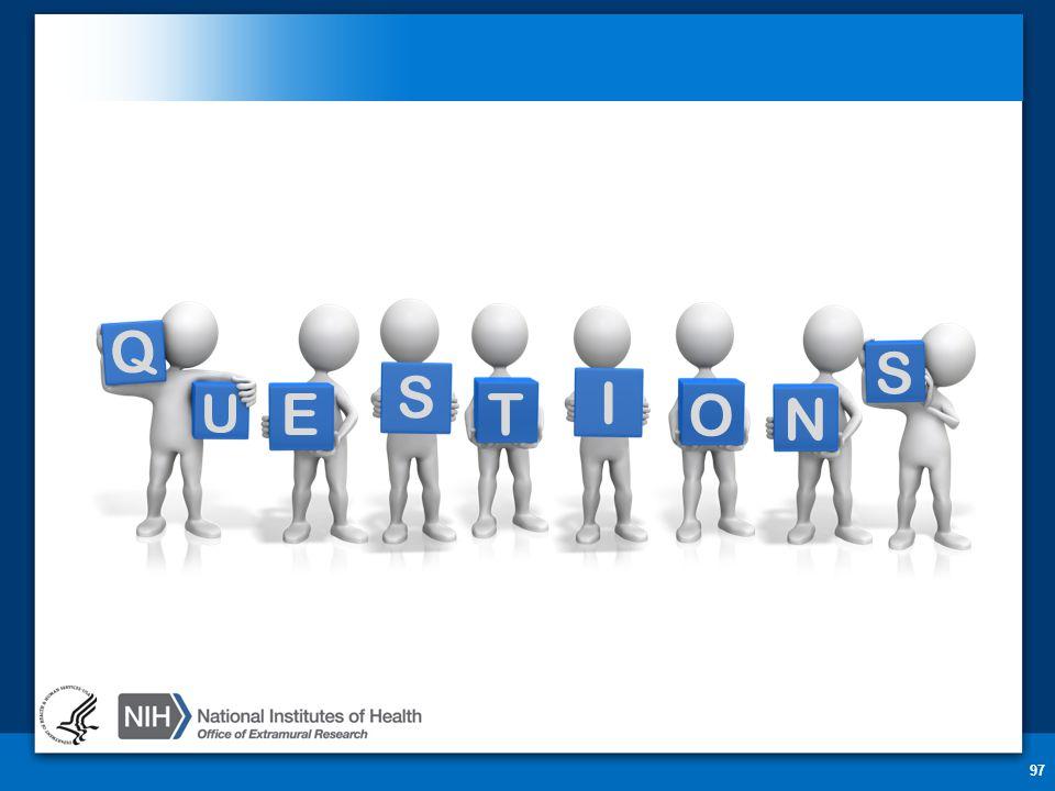 Q U T E S I O S N Questions 97