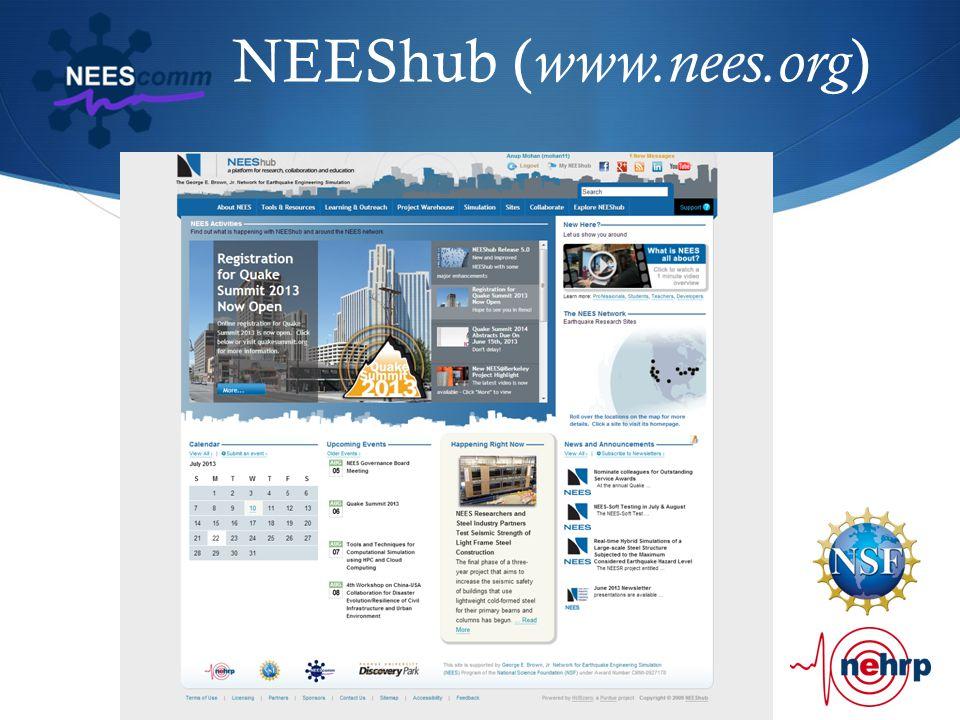NEEShub ( www.nees.org )