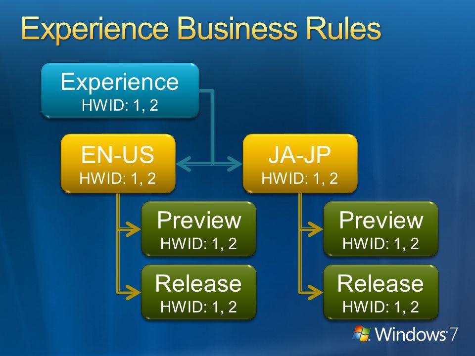 Experience HWID: 1, 2 Experience HWID: 1, 2 EN-US HWID: 1, 2 EN-US HWID: 1, 2 JA-JP HWID: 1, 2 JA-JP HWID: 1, 2 Preview HWID: 1, 2 Preview HWID: 1, 2 Release HWID: 1, 2 Release HWID: 1, 2 Release HWID: 1, 2 Release HWID: 1, 2 Preview HWID: 1, 2 Preview HWID: 1, 2
