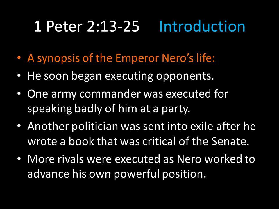 2:18Back in v.16 Peter just told us that we should all consider ourselves slaves of God.