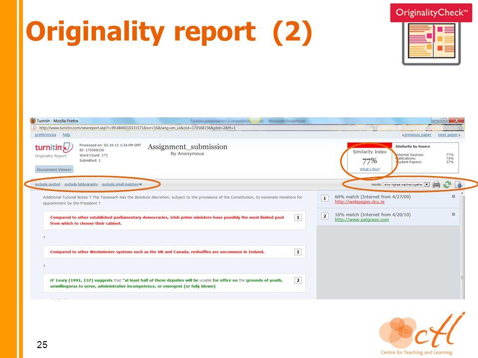 25 Originality report (2)