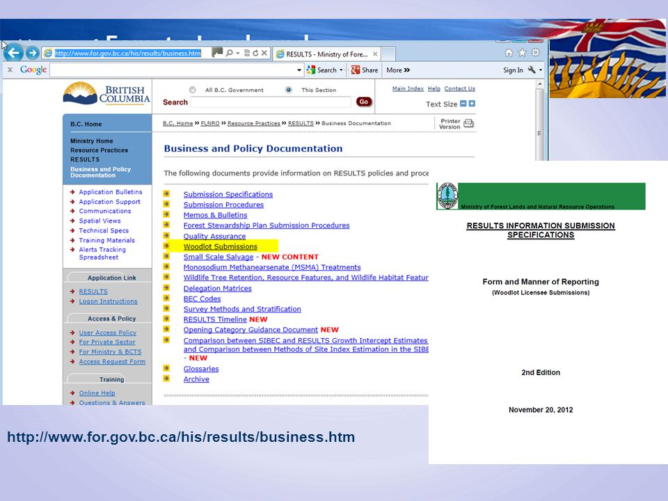 http://www.for.gov.bc.ca/his/results/business.htm