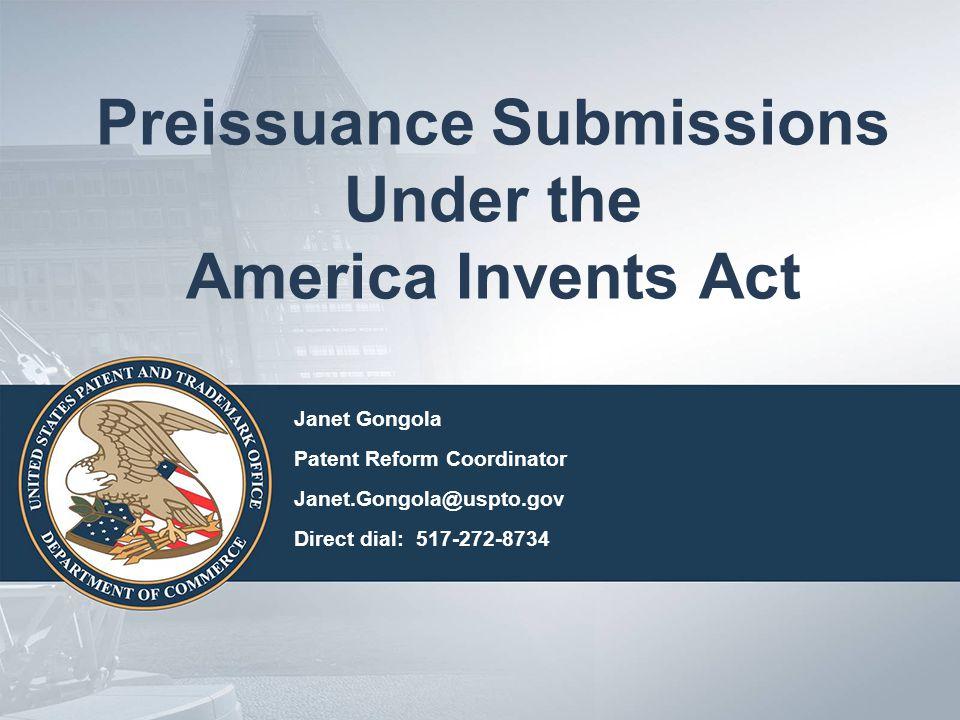 General Information Statutory basis: 35 U.S.C.122(e) Regulatory basis: 37 C.F.R.