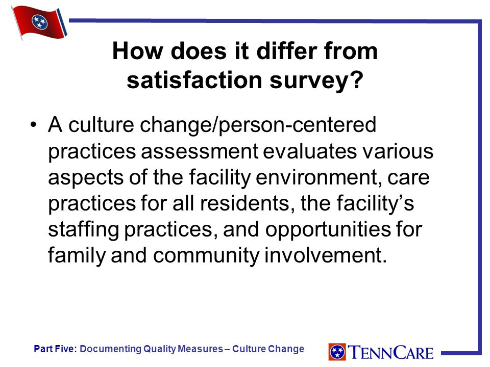 How does it differ from satisfaction survey.