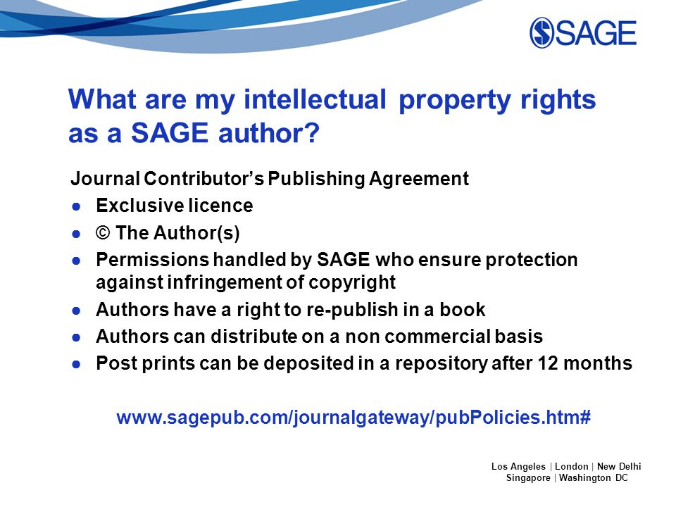 Los Angeles | London | New Delhi Singapore | Washington DC SAGE Open Access options http://sgo.sagepub.com/ http://www.uk.sagepub.com/aboutus/openaccess.htm