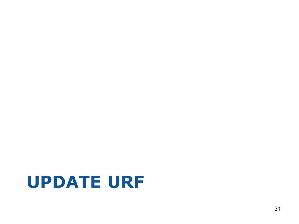UPDATE URF 31